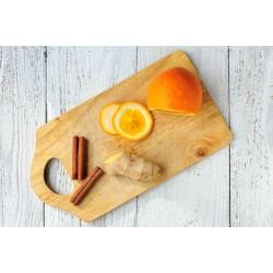 Granola Crua Ginger (Laranja e Gengibre)