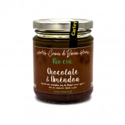 Creme Bio Cru Chocolate e Amêndoa