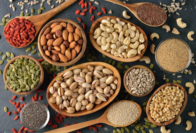 Nozes e Sementes para uma boa Nutrição